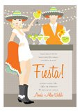 Blonde Fiesta Invitation