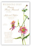 Blooms and Buds Invitation