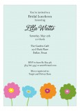 Blooms Invitation