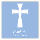 Blue Cross Banner Gift Tag