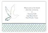 Blue Dove Enclosure Card Enclosure Card