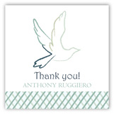 Blue Dove Gift Tag