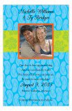 Blue Flip Flops Save the Date Photo Cards