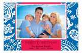 Blue Jean Christmas Photo Card