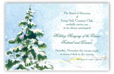 Blue Spruce Invitation