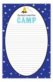 Blue Stars Camp Notepad