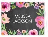 Watercolor Bridal Shower Chalkboard Thank You