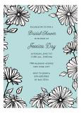 Flower Shower Bridal Shower Invitation
