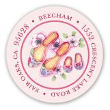 Baby Shoes Baby Shower Sticker