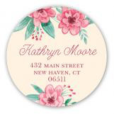 Vintage Banner Baby Shower Sticker for Girls