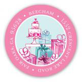 Lovely Bridal Shower Address Label