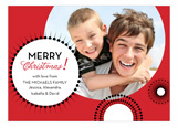 Bold Holiday Bursts Photo Card