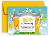 Bounce Castle Invitation