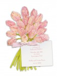 Bouquet of Tulips Invitation