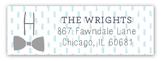Bow Tie Baby Address Label