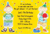 Boy Birthday Invitation