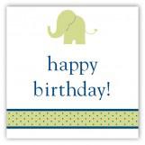 Boy Elephant Icon Gift Tag