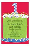 Boy First Birthday Invitation