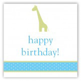 Boy Giraffe Icon Gift Tag