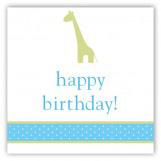 Boy Giraffe Icon Gift Tag