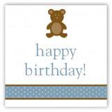 Boy Teddy Bear Icon Gift Tag