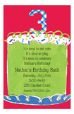 Boy Third Birthday Invitation