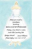 Bridal Dress Invitation
