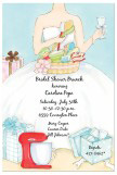 Bridal Kitchen Shower Invitation
