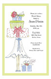 Bride Green Invitation