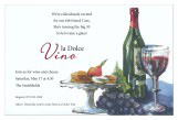 Brie and Merlot Invitation