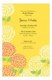 Bright Mum Spring Floral Invitation