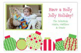 Bright Ornaments Galore Photo Card