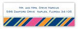 Bright Oxford Address Label