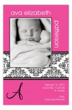 Brocade Band Pink Photo Card