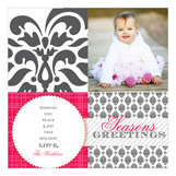 Brocade Bliss Photo Card