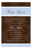 Brown Dots Boy Invitation