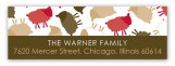 Brown Sheep Celebration Address Label