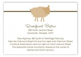 Brown Sheep Celebration Enclosure Card