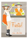 Brunette Fiesta Invitation