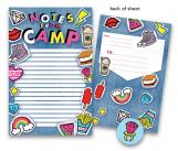 Denim Patches Kids Camp Stationery