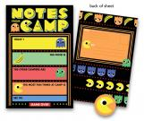 Vintage Video Game Kids Camp Stationery