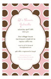 Bubble Gum Pink Invitation