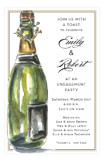 Bubbly Bottle Invitation
