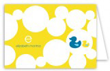 Bubbly Ducky Note Card