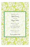 Budding Chartreuse Invitation