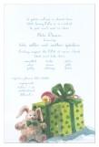 Bunny and Box Invitation