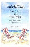 By The Seashore Invitation