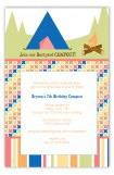 Campout Celebration Invitation