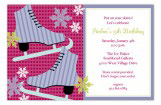 Celebrate and Skate Invitation
