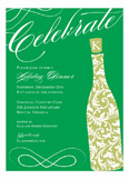 Celebrate Champagne Invitation